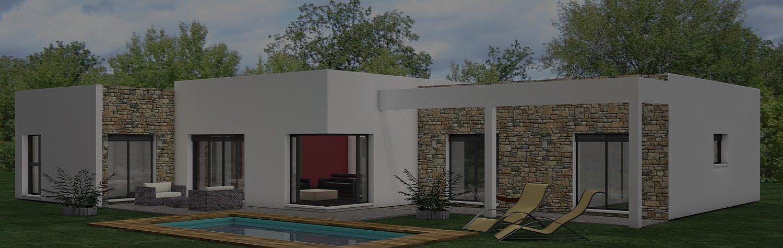 Constructeur maison d 39 architecte maisons h raud for Constructeur maison architecte