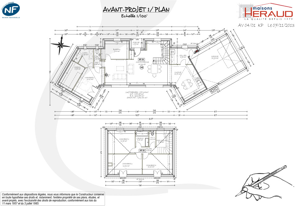maison d architecte maison h raud constructeur de maisons individuelles en gironde 33. Black Bedroom Furniture Sets. Home Design Ideas