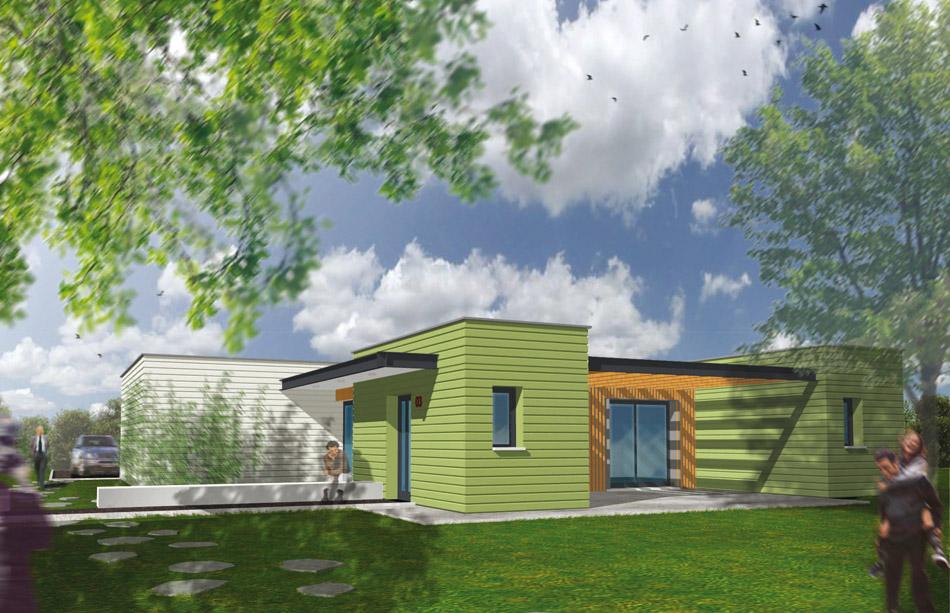 constructeur maison d 39 architecte maisons h raud. Black Bedroom Furniture Sets. Home Design Ideas