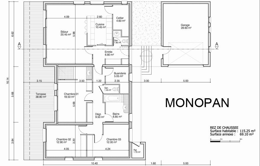 maison heraud trabeco architecture15 02 maison h raud constructeur de maisons individuelles. Black Bedroom Furniture Sets. Home Design Ideas