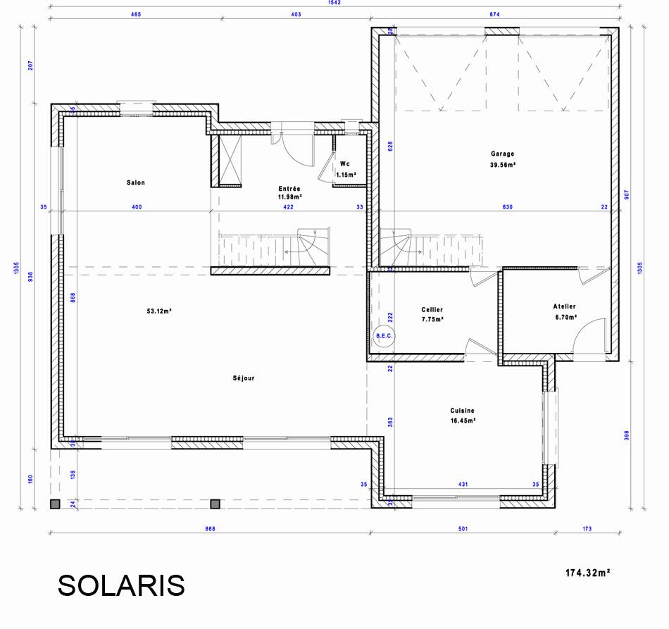 maison heraud trabeco architecture16 02 maison h raud constructeur de maisons individuelles. Black Bedroom Furniture Sets. Home Design Ideas