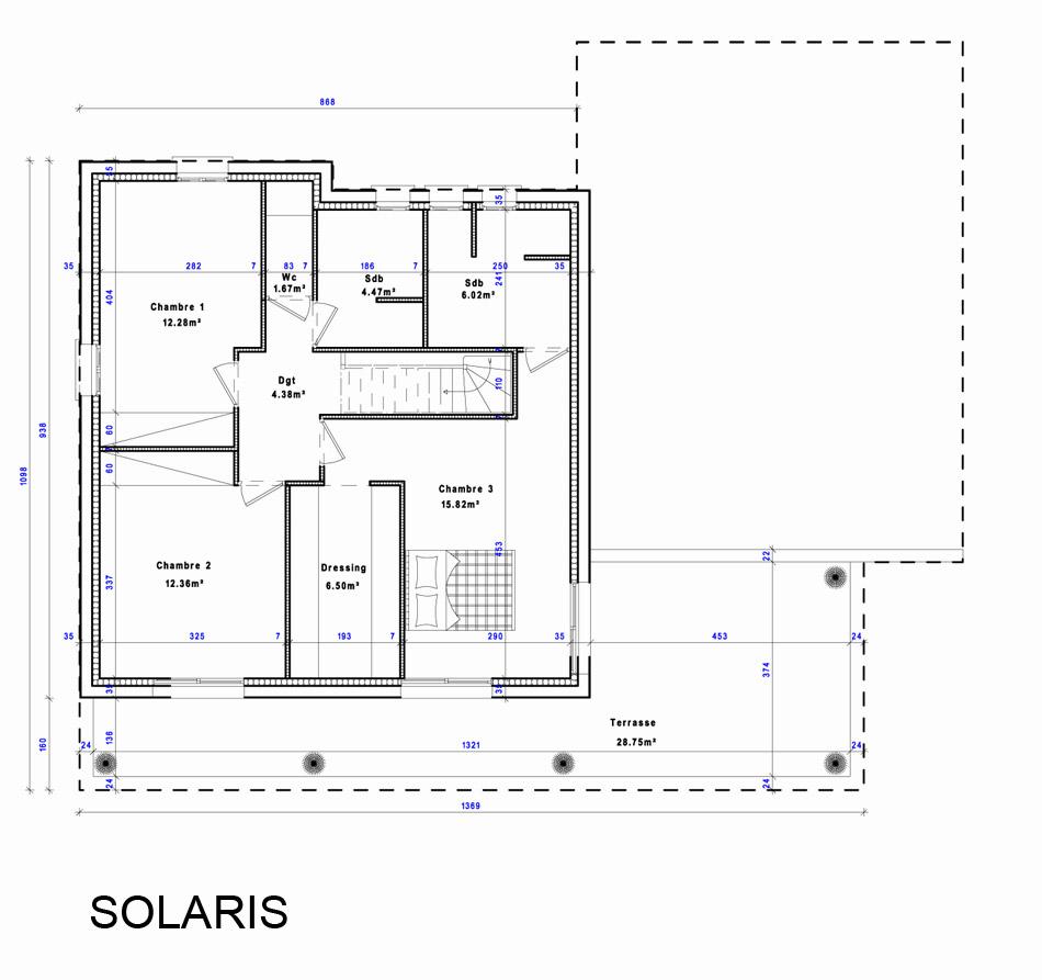 maison heraud trabeco architecture16 03 maison h raud constructeur de maisons individuelles. Black Bedroom Furniture Sets. Home Design Ideas