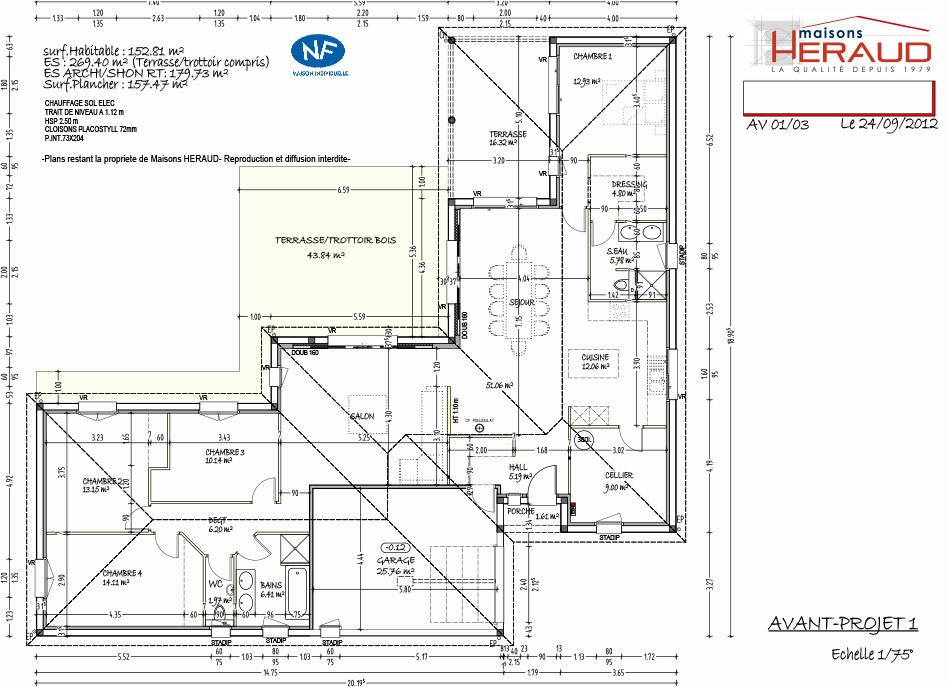 maison heraud trabeco architecture8 plan maison h raud constructeur de maisons individuelles. Black Bedroom Furniture Sets. Home Design Ideas