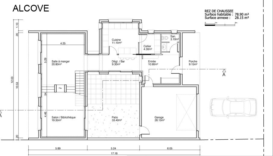 maison heraud trabeco architecture9 02 maison h raud constructeur de maisons individuelles. Black Bedroom Furniture Sets. Home Design Ideas