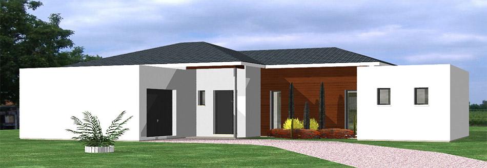 Maison personnalis e maison h raud constructeur de for Constructeur maison 33