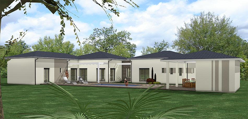 maison heraud trabeco personnalise9 arriere maison h raud constructeur de maisons. Black Bedroom Furniture Sets. Home Design Ideas