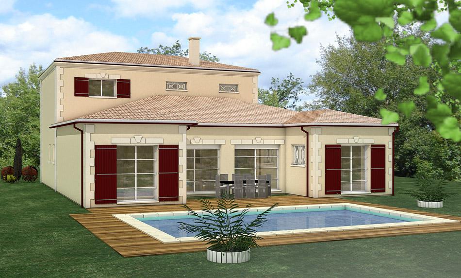 Constructeur maison d 39 architecte maisons h raud for Constructeur maison landaise