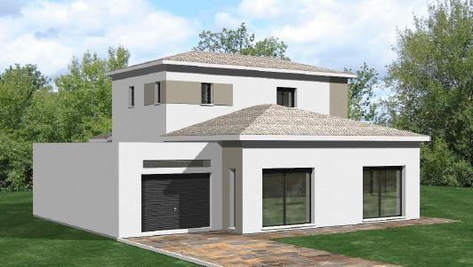 architecte maison 170 m2. Black Bedroom Furniture Sets. Home Design Ideas