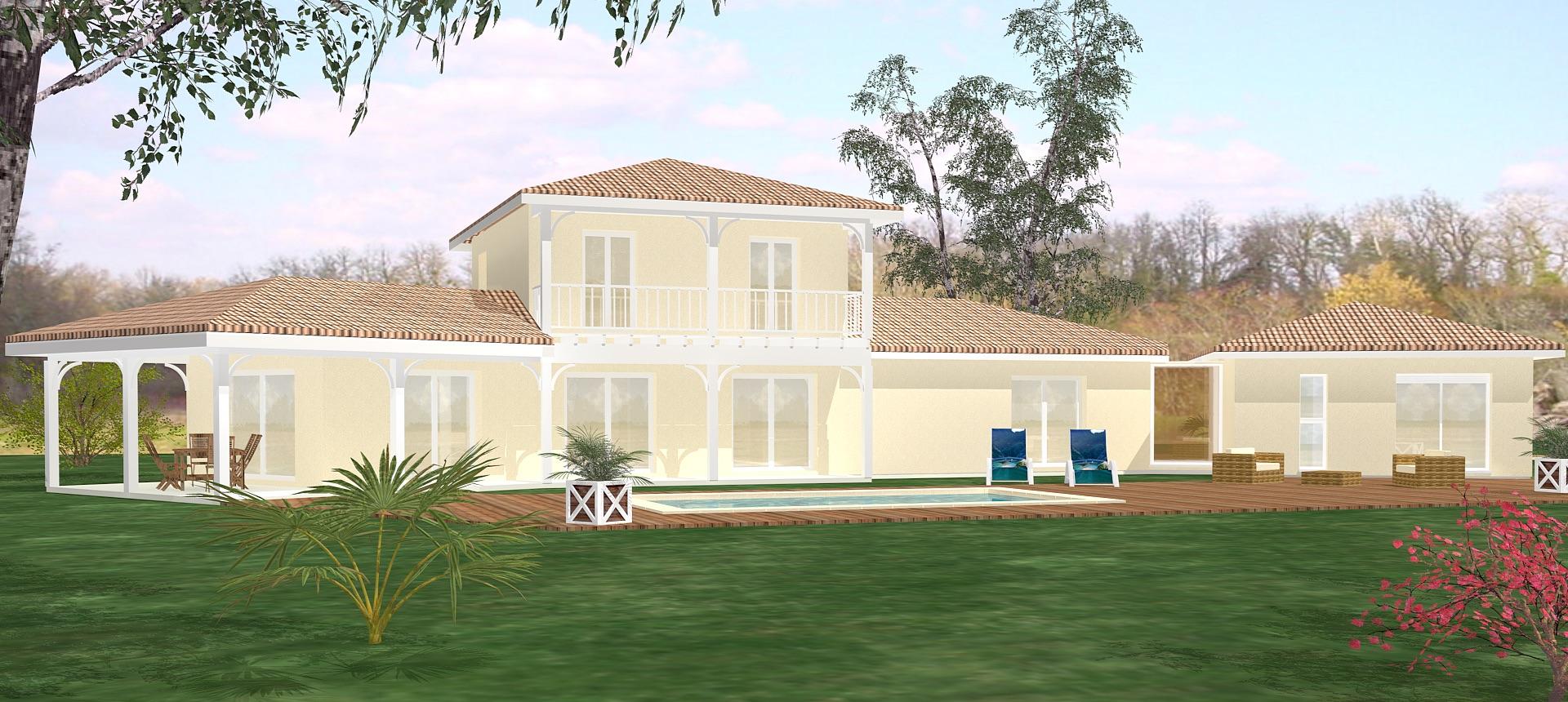 Maison architecte pas cher maison darchitecte dans son for Architecte maison en bois
