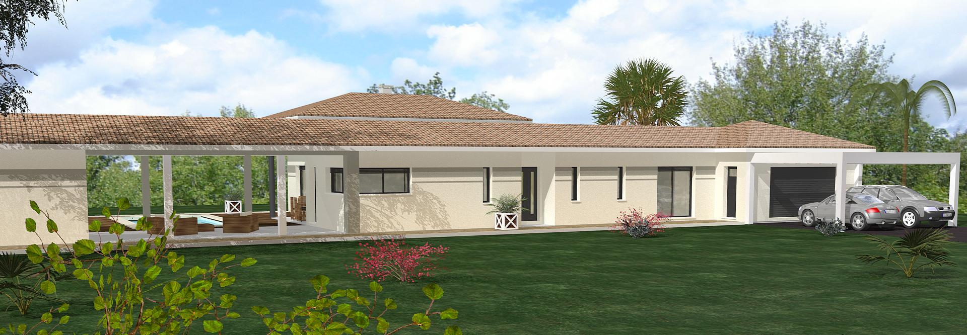 Constructeur maison d architecte gironde for Architecte constructeur