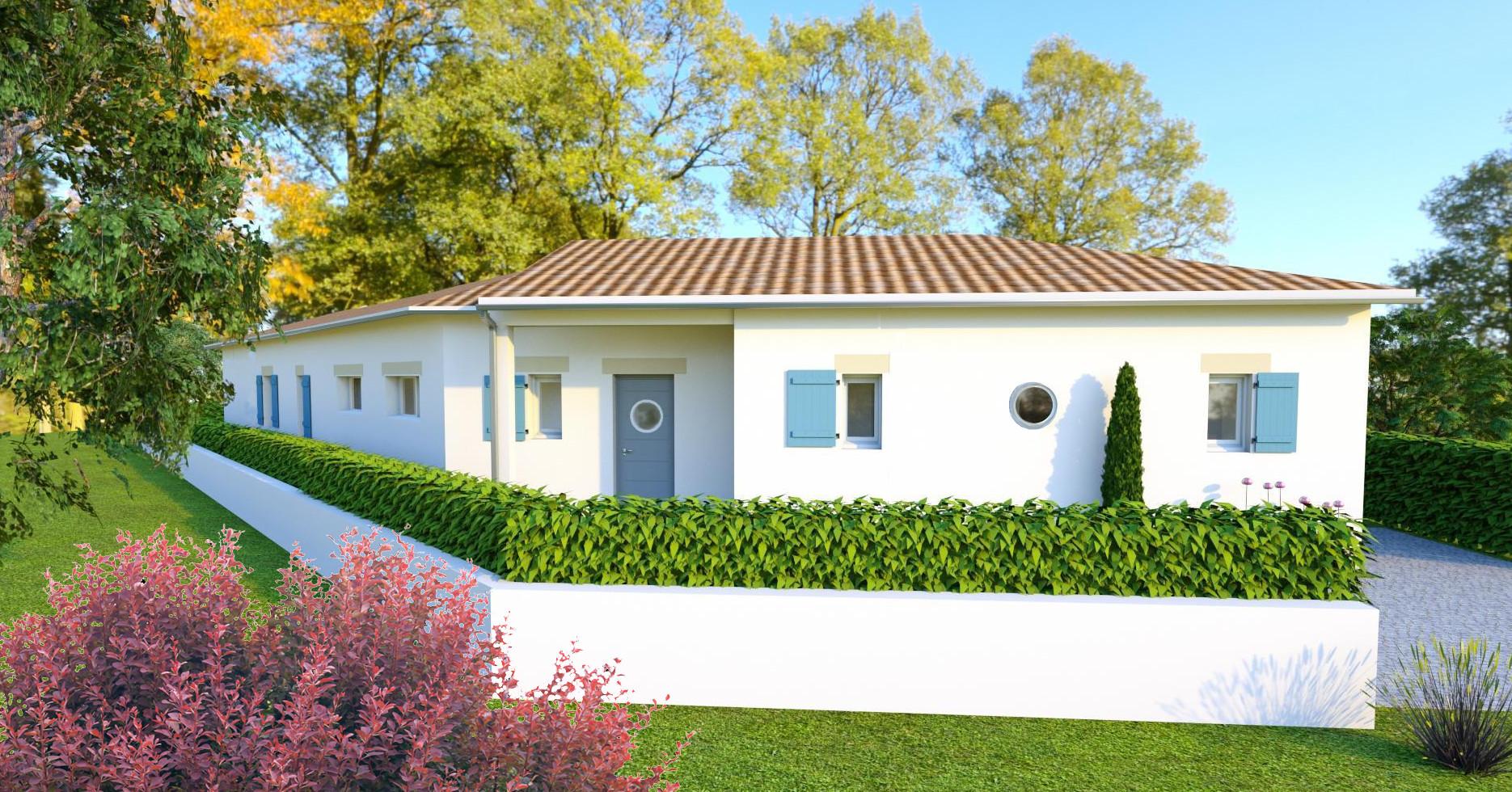 Maison personnalisee maison h raud constructeur de for Constructeur maison 33