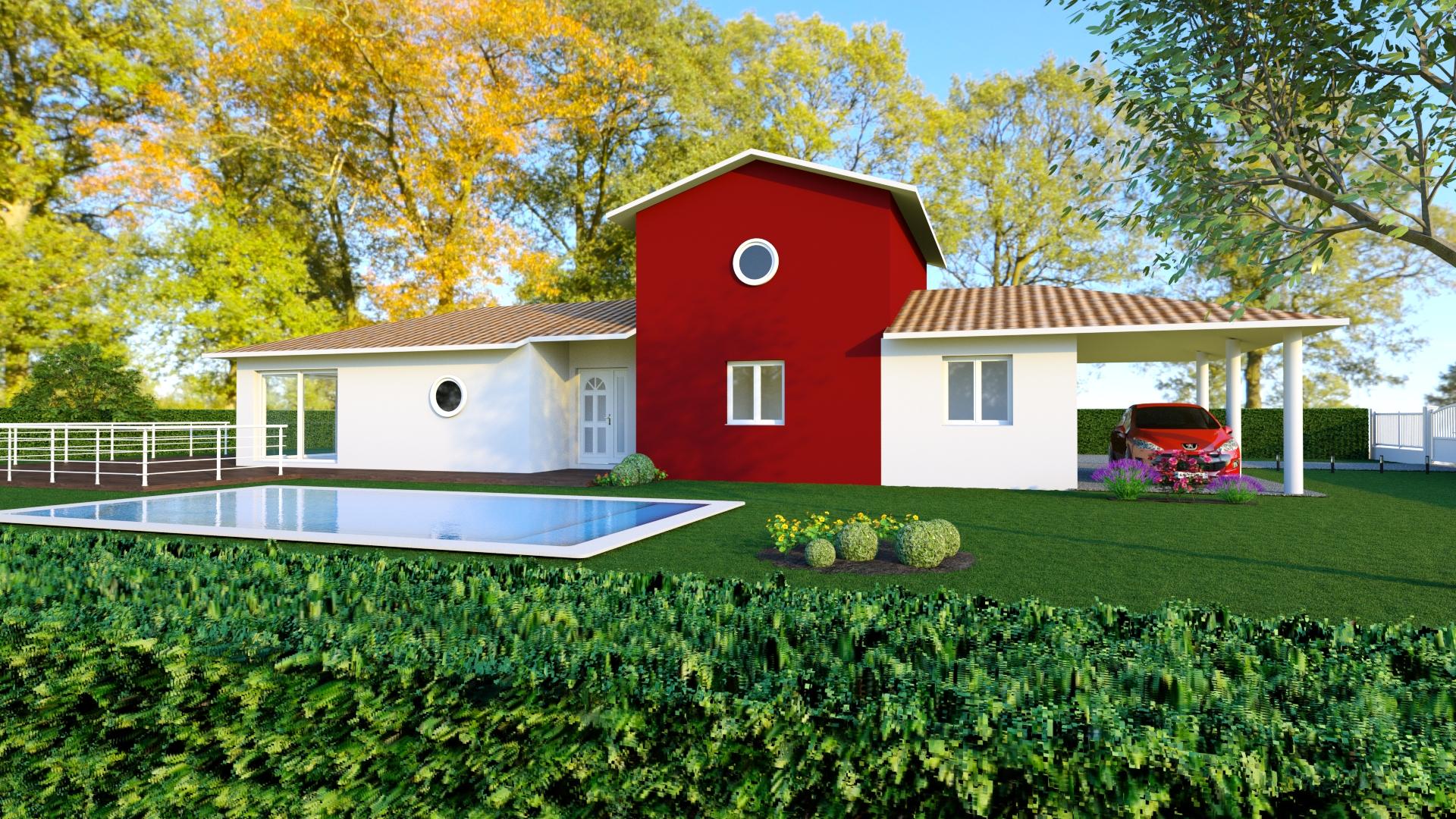 Mod le de maison maison h raud constructeur de maisons for Modele maison gironde